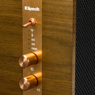 Klipsch The Three Abanoz Masaüstü Bluetooth Stereo Hoparlör